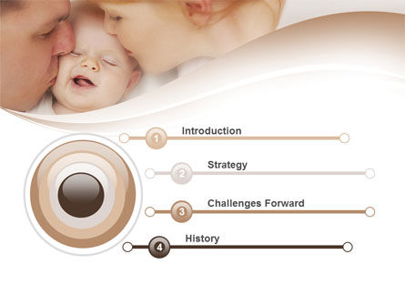 Baby's Family PowerPoint Template Slide 3
