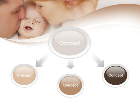 Baby's Family PowerPoint Template Slide 4