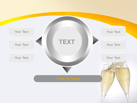 Splash Of Champagne PowerPoint Template Slide 12