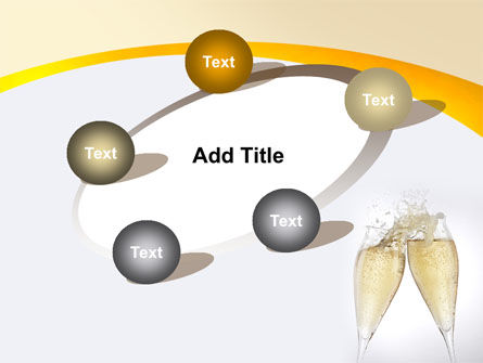 Splash Of Champagne PowerPoint Template Slide 14