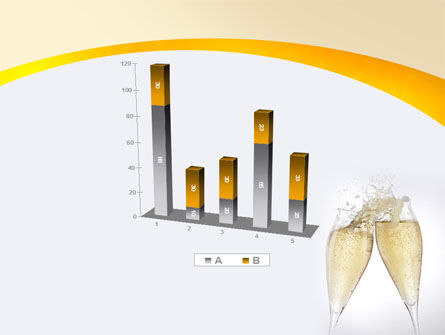 Splash Of Champagne PowerPoint Template Slide 17