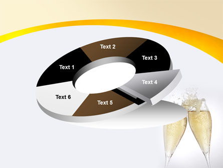 Splash Of Champagne PowerPoint Template Slide 19