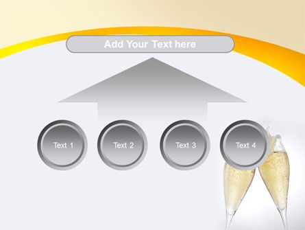 Splash Of Champagne PowerPoint Template Slide 8