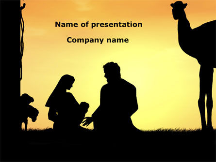 Birth of Jesus PowerPoint Template