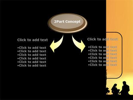 Birth of Jesus PowerPoint Template, Slide 4, 08981, Religious/Spiritual — PoweredTemplate.com