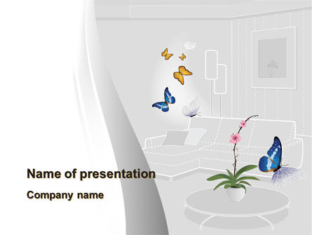 Habitat Design PowerPoint Template