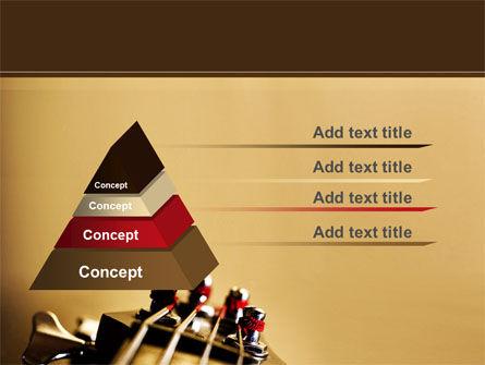 Bass Guitar PowerPoint Template Slide 12
