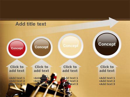 Bass Guitar PowerPoint Template Slide 13