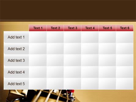Bass Guitar PowerPoint Template Slide 15