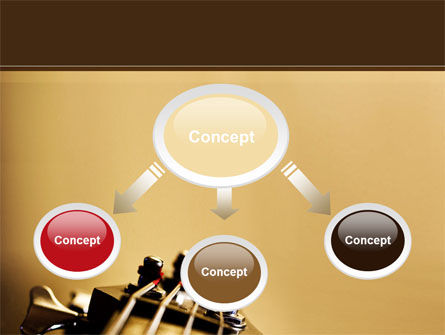 Bass Guitar PowerPoint Template, Slide 4, 08986, Art & Entertainment — PoweredTemplate.com