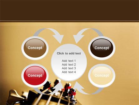 Bass Guitar PowerPoint Template Slide 6