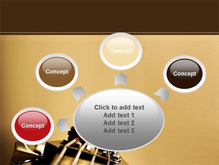Bass Guitar PowerPoint Template Slide 7