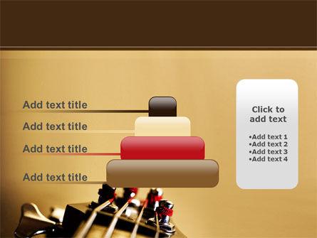 Bass Guitar PowerPoint Template Slide 8