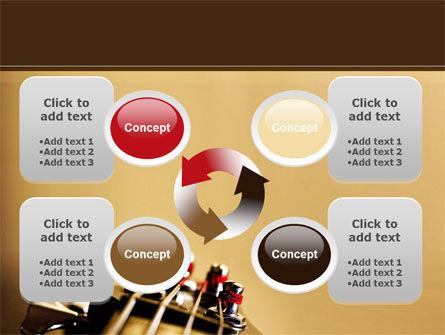 Bass Guitar PowerPoint Template Slide 9
