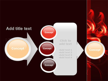 Tongues Of Flame PowerPoint Template Slide 17
