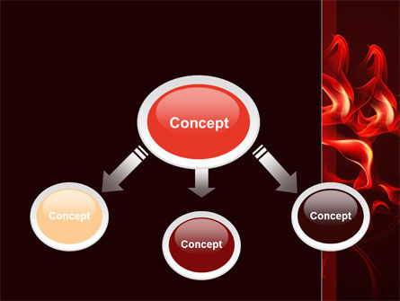 Tongues Of Flame PowerPoint Template Slide 4