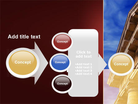 Classic Greece Portico PowerPoint Template Slide 17