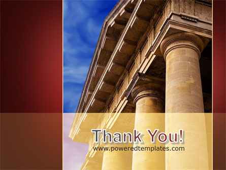 Classic Greece Portico PowerPoint Template Slide 20