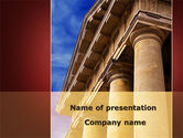 Education & Training: Classic Greece Portico PowerPoint Template #08990