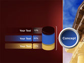 Classic Greece Portico PowerPoint Template#11