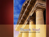 Classic Greece Portico PowerPoint Template#20
