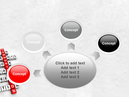 Modern Communication Crossword PowerPoint Template Slide 7