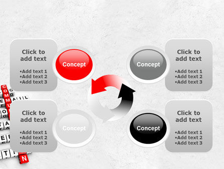 Modern Communication Crossword PowerPoint Template Slide 9
