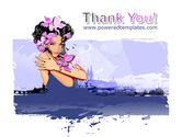 Flowers Aroma Free PowerPoint Template#20