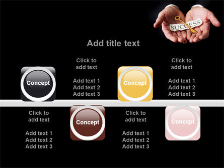 Key To Success In Your Hands PowerPoint Template Slide 18