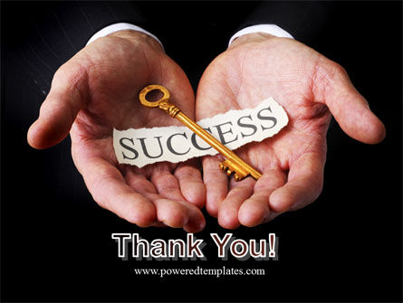 Key To Success In Your Hands PowerPoint Template Slide 20