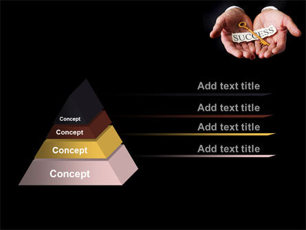 Key To Success In Your Hands PowerPoint Template, Slide 4, 08995, Business Concepts — PoweredTemplate.com