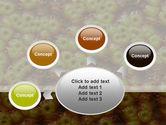 Toroidal Virus Free PowerPoint Template#7