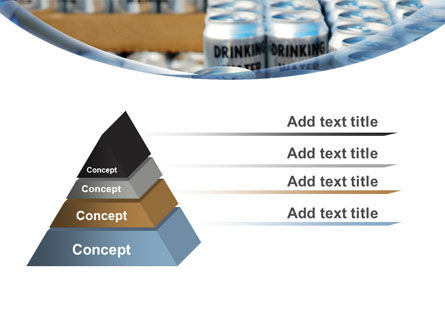 Cans of Water PowerPoint Template Slide 12