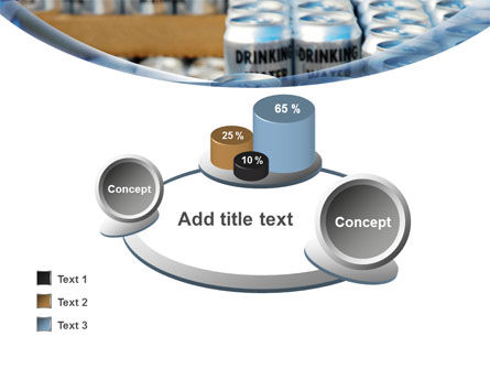 Cans of Water PowerPoint Template Slide 16