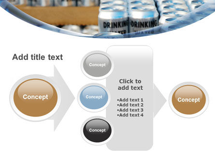 Cans of Water PowerPoint Template Slide 17