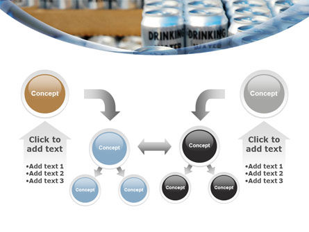 Cans of Water PowerPoint Template Slide 19