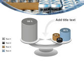 Cans of Water PowerPoint Template#10