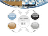 Cans of Water PowerPoint Template#6