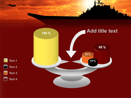 Heavy Aircraft Carrying Cruiser PowerPoint Template Slide 10