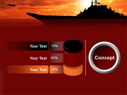Heavy Aircraft Carrying Cruiser PowerPoint Template Slide 11