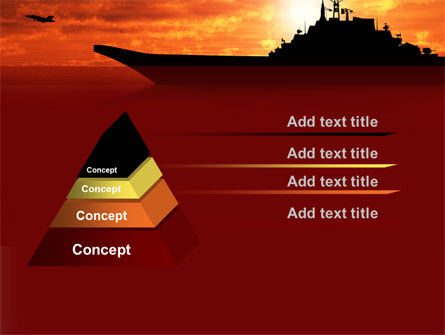 Heavy Aircraft Carrying Cruiser PowerPoint Template Slide 12