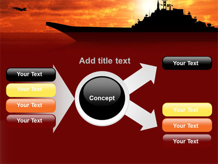 Heavy Aircraft Carrying Cruiser PowerPoint Template Slide 14
