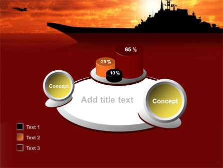 Heavy Aircraft Carrying Cruiser PowerPoint Template Slide 16