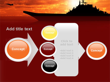 Heavy Aircraft Carrying Cruiser PowerPoint Template Slide 17