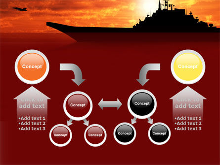 Heavy Aircraft Carrying Cruiser PowerPoint Template Slide 19