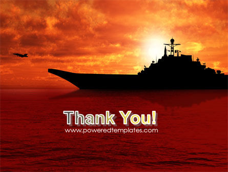 Heavy Aircraft Carrying Cruiser PowerPoint Template Slide 20