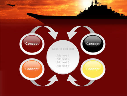 Heavy Aircraft Carrying Cruiser PowerPoint Template Slide 6