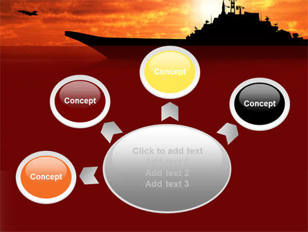 Heavy Aircraft Carrying Cruiser PowerPoint Template Slide 7