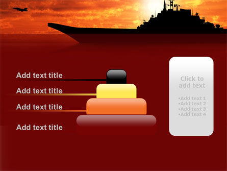 Heavy Aircraft Carrying Cruiser PowerPoint Template Slide 8
