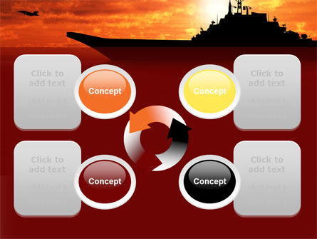 Heavy Aircraft Carrying Cruiser PowerPoint Template Slide 9